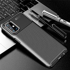 Silikon Hülle Handyhülle Gummi Schutzhülle Flexible Tasche Köper für Samsung Galaxy M31s Schwarz
