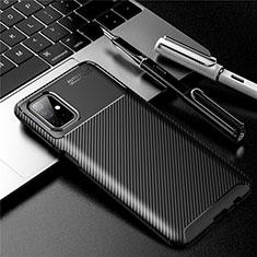 Silikon Hülle Handyhülle Gummi Schutzhülle Flexible Tasche Köper für Samsung Galaxy M51 Schwarz
