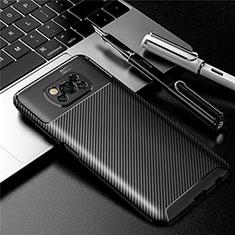 Silikon Hülle Handyhülle Gummi Schutzhülle Flexible Tasche Köper für Xiaomi Poco X3 NFC Schwarz