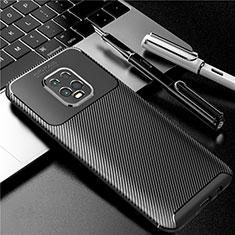 Silikon Hülle Handyhülle Gummi Schutzhülle Flexible Tasche Köper für Xiaomi Redmi 10X Pro 5G Schwarz