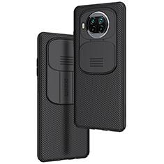 Silikon Hülle Handyhülle Gummi Schutzhülle Flexible Tasche Köper U01 für Xiaomi Mi 10T Lite 5G Schwarz