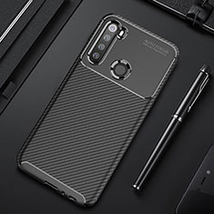 Silikon Hülle Handyhülle Gummi Schutzhülle Flexible Tasche Köper Y01 für Xiaomi Redmi Note 8 Schwarz