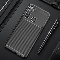 Silikon Hülle Handyhülle Gummi Schutzhülle Flexible Tasche Köper Y01 für Xiaomi Redmi Note 8T Schwarz
