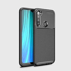 Silikon Hülle Handyhülle Gummi Schutzhülle Flexible Tasche Köper Y02 für Xiaomi Redmi Note 8 Schwarz