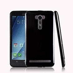 Silikon Hülle Handyhülle Gummi Schutzhülle für Asus Zenfone 2 Laser 6.0 ZE601KL Schwarz