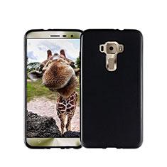 Silikon Hülle Handyhülle Gummi Schutzhülle für Asus Zenfone 3 ZE552KL Schwarz