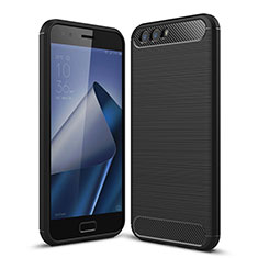 Silikon Hülle Handyhülle Gummi Schutzhülle für Asus Zenfone 4 ZE554KL Schwarz