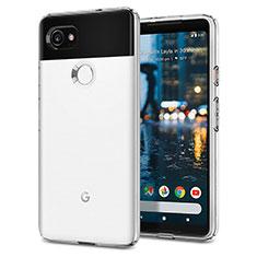 Silikon Hülle Handyhülle Gummi Schutzhülle für Google Pixel 2 XL Weiß