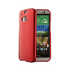 Silikon Hülle Handyhülle Gummi Schutzhülle für HTC One M8 Rot