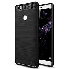 Silikon Hülle Handyhülle Gummi Schutzhülle für Huawei Honor Note 8 Schwarz