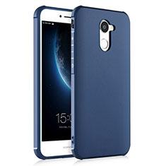 Silikon Hülle Handyhülle Gummi Schutzhülle für Huawei Y7 Prime Blau
