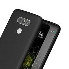 Silikon Hülle Handyhülle Gummi Schutzhülle für LG G5 Schwarz