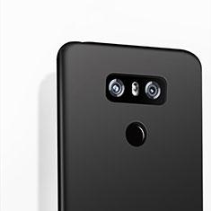 Silikon Hülle Handyhülle Gummi Schutzhülle für LG G6 Schwarz