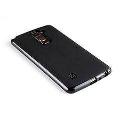 Silikon Hülle Handyhülle Gummi Schutzhülle für LG Stylus 2 Plus Schwarz