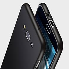 Silikon Hülle Handyhülle Gummi Schutzhülle für Samsung Galaxy A7 Duos SM-A700F A700FD Schwarz