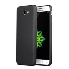Silikon Hülle Handyhülle Gummi Schutzhülle für Samsung Galaxy J7 Prime Schwarz