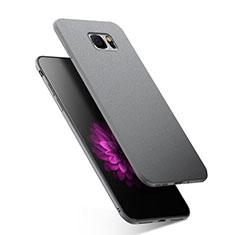 Silikon Hülle Handyhülle Gummi Schutzhülle für Samsung Galaxy Note 5 N9200 N920 N920F Grau