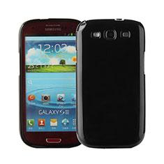 Silikon Hülle Handyhülle Gummi Schutzhülle für Samsung Galaxy S3 III LTE 4G Schwarz