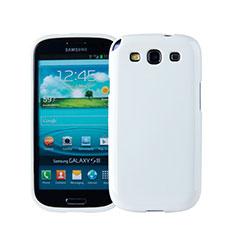 Silikon Hülle Handyhülle Gummi Schutzhülle für Samsung Galaxy S3 III LTE 4G Weiß
