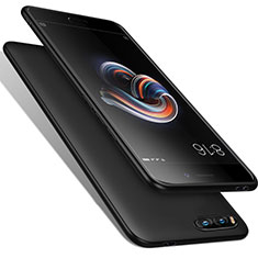 Silikon Hülle Handyhülle Gummi Schutzhülle für Xiaomi Mi Note 3 Schwarz