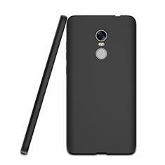 Silikon Hülle Handyhülle Gummi Schutzhülle für Xiaomi Redmi Note 4 Schwarz