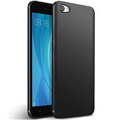 Silikon Hülle Handyhülle Gummi Schutzhülle für Xiaomi Redmi Note 5A Standard Edition Schwarz
