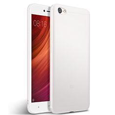 Silikon Hülle Handyhülle Gummi Schutzhülle für Xiaomi Redmi Note 5A Standard Edition Weiß