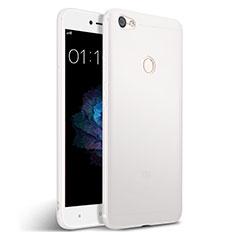 Silikon Hülle Handyhülle Gummi Schutzhülle für Xiaomi Redmi Y1 Weiß