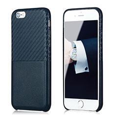 Silikon Hülle Handyhülle Gummi Schutzhülle Köper B05 für Apple iPhone 6S Plus Blau