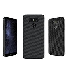 Silikon Hülle Handyhülle Gummi Schutzhülle Köper für LG G6 Schwarz