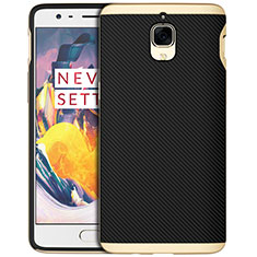Silikon Hülle Handyhülle Gummi Schutzhülle Köper für OnePlus 3 Gold
