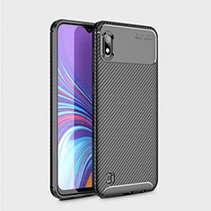 Silikon Hülle Handyhülle Gummi Schutzhülle Köper für Samsung Galaxy A10 Schwarz