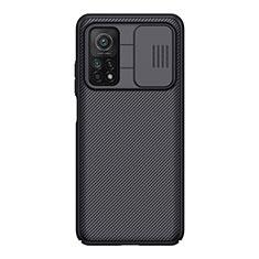 Silikon Hülle Handyhülle Gummi Schutzhülle Köper für Xiaomi Mi 10T Pro 5G Schwarz