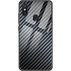 Silikon Hülle Handyhülle Gummi Schutzhülle Köper für Xiaomi Mi 8 Schwarz