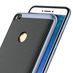 Silikon Hülle Handyhülle Gummi Schutzhülle Köper für Xiaomi Mi Max 2 Blau