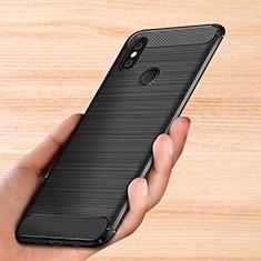 Silikon Hülle Handyhülle Gummi Schutzhülle Köper für Xiaomi Mi Mix 3 Schwarz