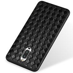 Silikon Hülle Handyhülle Gummi Schutzhülle Leder für Huawei Mate 9 Pro Schwarz