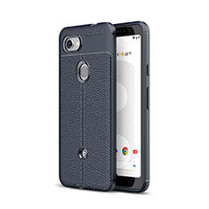 Silikon Hülle Handyhülle Gummi Schutzhülle Leder Tasche für Google Pixel 3a XL Blau