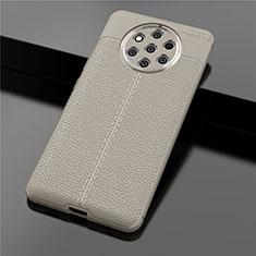 Silikon Hülle Handyhülle Gummi Schutzhülle Leder Tasche für Nokia 9 PureView Gold