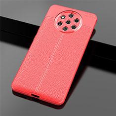 Silikon Hülle Handyhülle Gummi Schutzhülle Leder Tasche für Nokia 9 PureView Rot