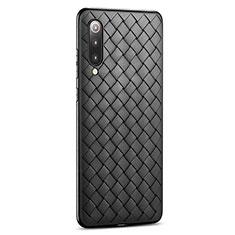Silikon Hülle Handyhülle Gummi Schutzhülle Leder Tasche für Xiaomi Mi 9 Pro 5G Schwarz
