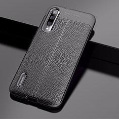 Silikon Hülle Handyhülle Gummi Schutzhülle Leder Tasche für Xiaomi Mi A3 Schwarz