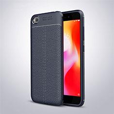 Silikon Hülle Handyhülle Gummi Schutzhülle Leder Tasche für Xiaomi Redmi Go Blau