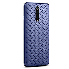 Silikon Hülle Handyhülle Gummi Schutzhülle Leder Tasche für Xiaomi Redmi K20 Blau
