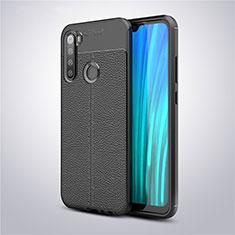 Silikon Hülle Handyhülle Gummi Schutzhülle Leder Tasche für Xiaomi Redmi Note 8 Schwarz