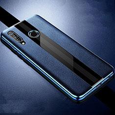 Silikon Hülle Handyhülle Gummi Schutzhülle Leder Tasche H05 für Huawei Honor 20 Lite Blau