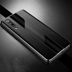 Silikon Hülle Handyhülle Gummi Schutzhülle Leder Tasche S01 für Xiaomi Mi 9 Lite Schwarz