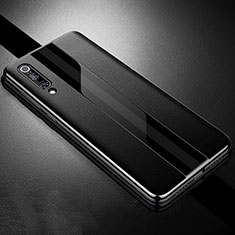 Silikon Hülle Handyhülle Gummi Schutzhülle Leder Tasche S01 für Xiaomi Mi 9 SE Schwarz
