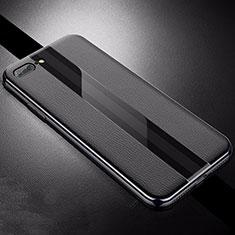Silikon Hülle Handyhülle Gummi Schutzhülle Leder Tasche S04 für Apple iPhone 8 Plus Schwarz