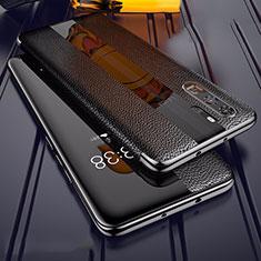 Silikon Hülle Handyhülle Gummi Schutzhülle Leder Tasche Z01 für Huawei P30 Pro Schwarz